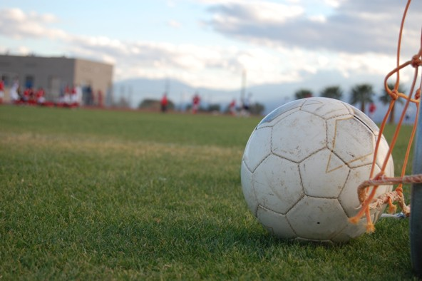 Fodboldgolf er god underholdning for hele familien
